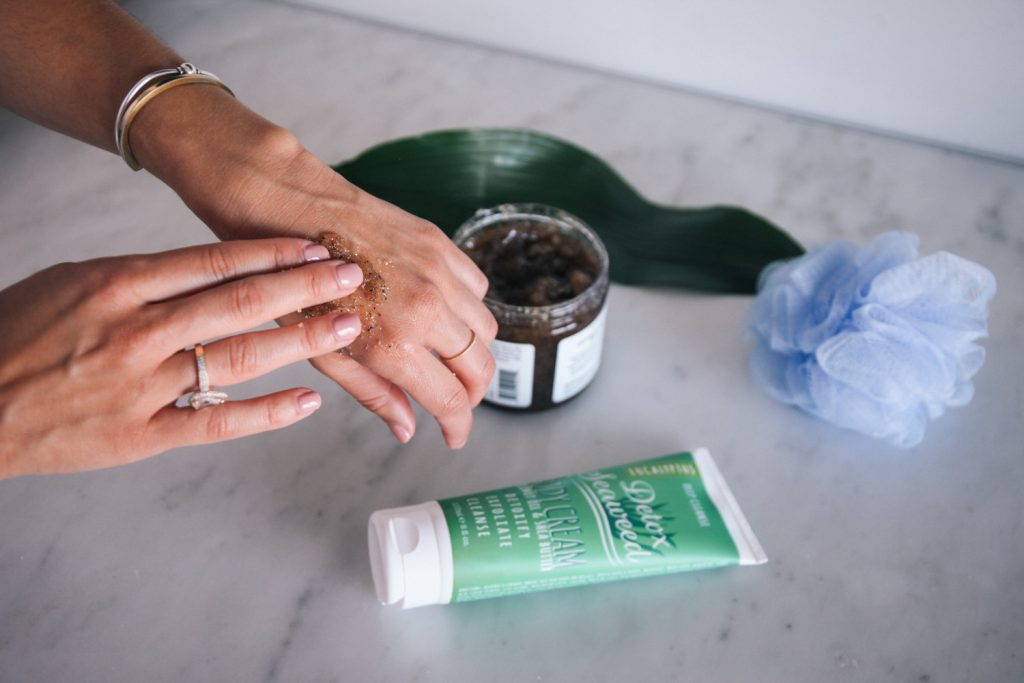 Blogger Mary Krosnjar sharing how to transition skincare to fall
