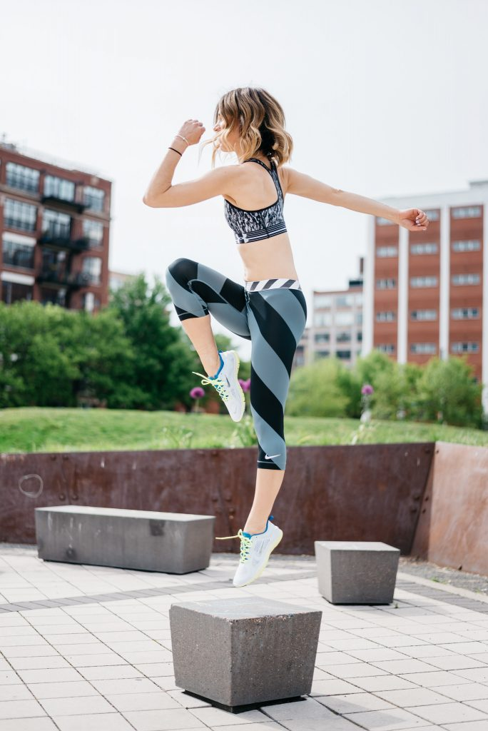 Activewear from Marshalls, Find your Surprise at Marshalls, Nike Compression pants, Nike 5.0 Womens Free, Sports and Fashion Blogger