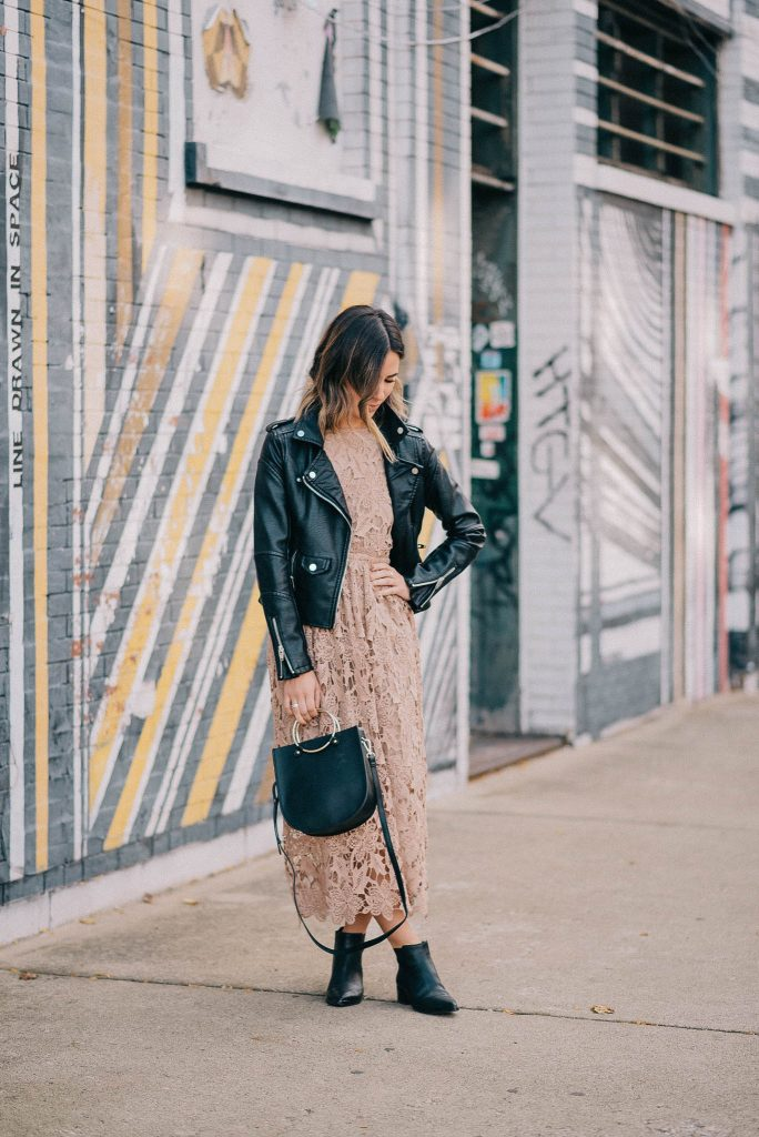 Chicago Fashion Blogger and Marc Fisher Yale Chelsea Booties