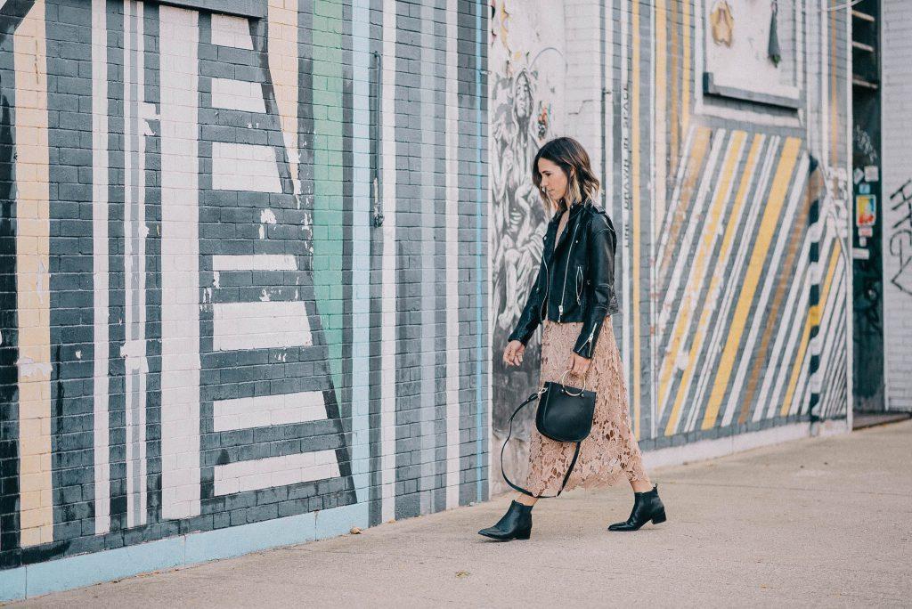 NA KD Crochet Strap Back Dress and Chicago Fashion Blogger