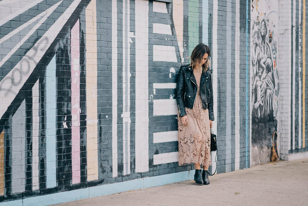 Marc Fisher Yale Chelsea Booties and Chicago Fashion Blogger