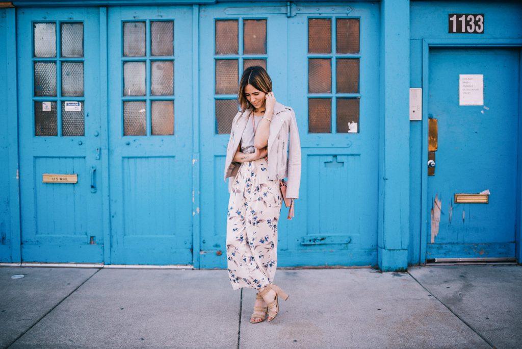 Blogger Mary Krosnjar sharing Spring fever with Marshalls