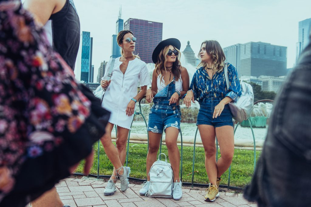 Chicago Fashion Bloggers and Lollapalooza Fashion