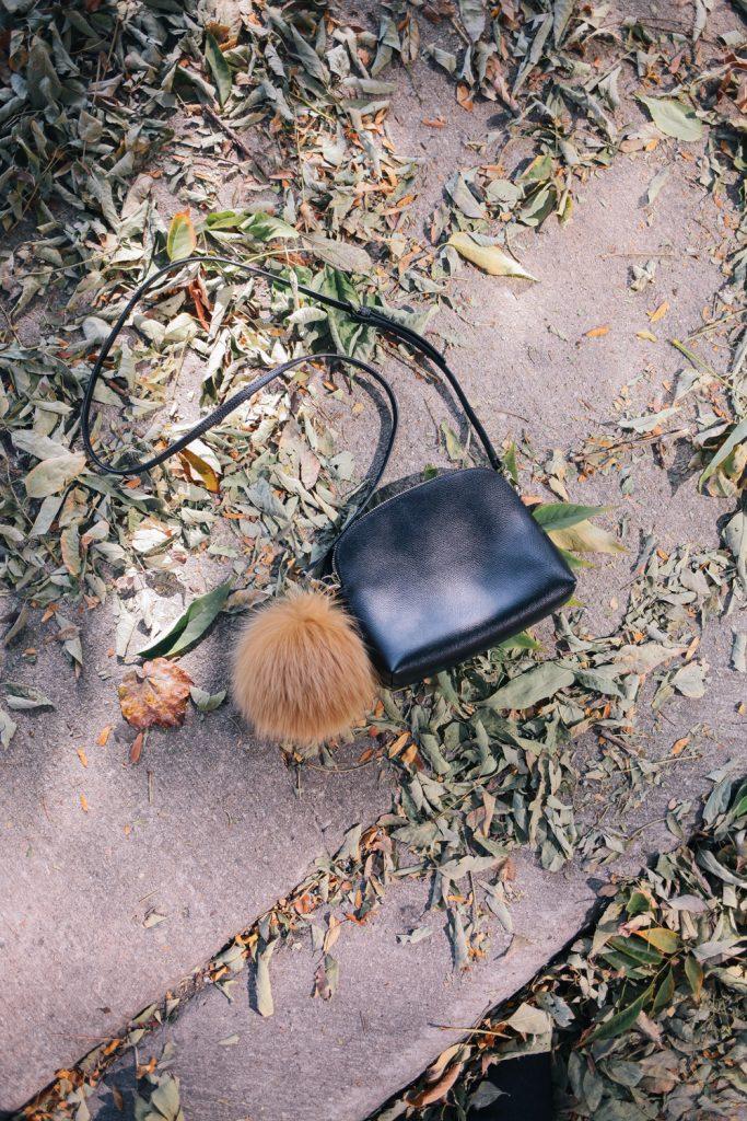 Furla Piper Bag with Fur Pom