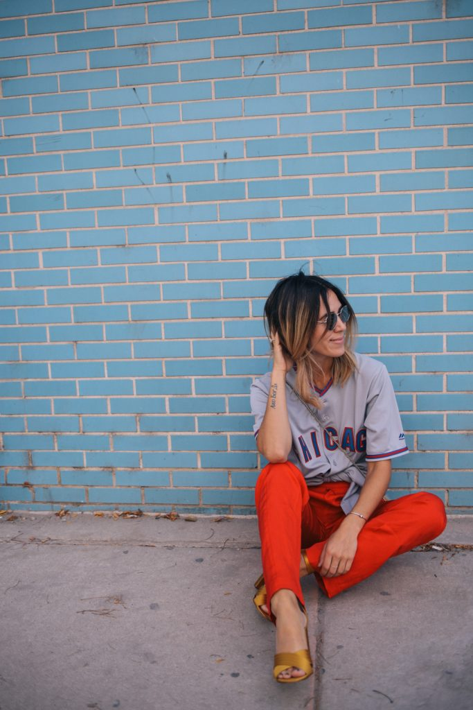 Chicago Cubs Jersey and H&M Pull On Pants
