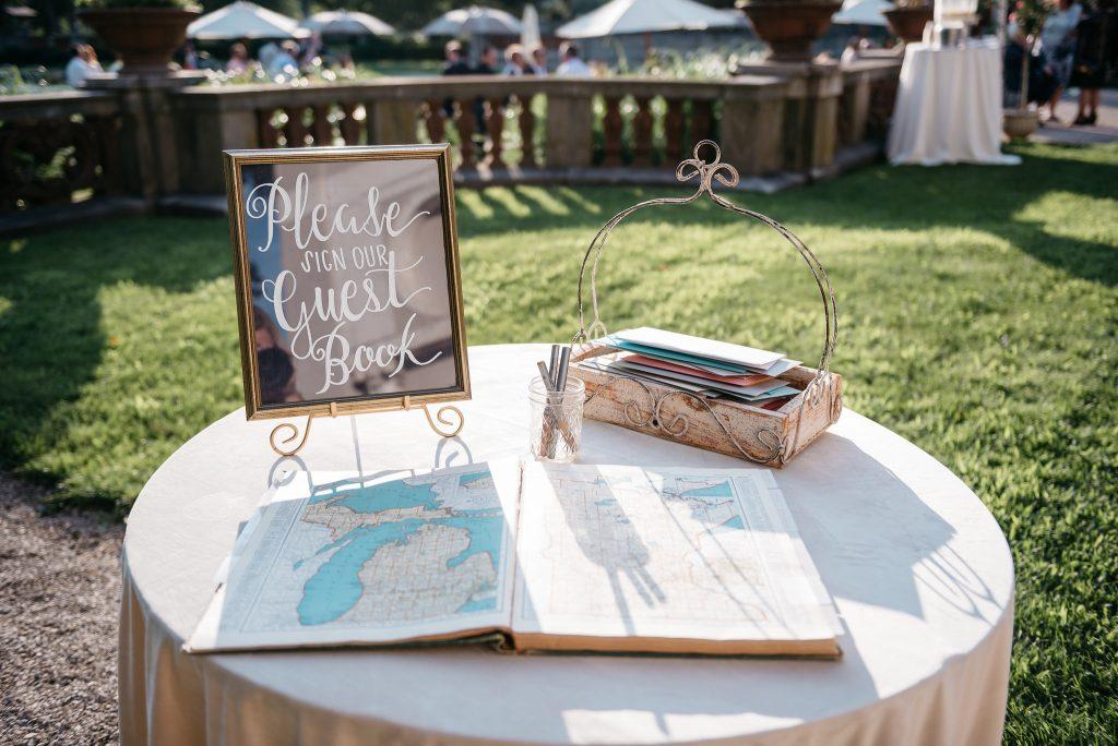 Armor House Mansion Wedding Venue + Wedding Guest Book