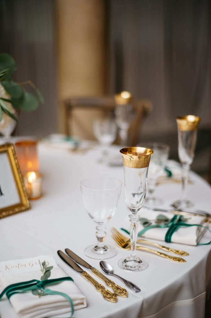 Gold Flatware for Wedding
