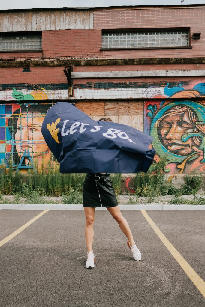 Blogger Mary Krosnjar wearing Topshop Faux Mini Leather Skirt and Nike A270s