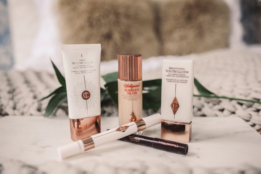 Blogger Mary Krosnjar wearing Charlotte Tilbury Brightening Youth Glow