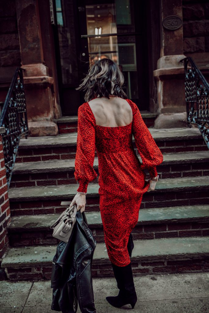 Seattle Fashion Blogger Sportsanista wearing AFRM Midi Dress and Sharing Nordstrom Sale Favorites