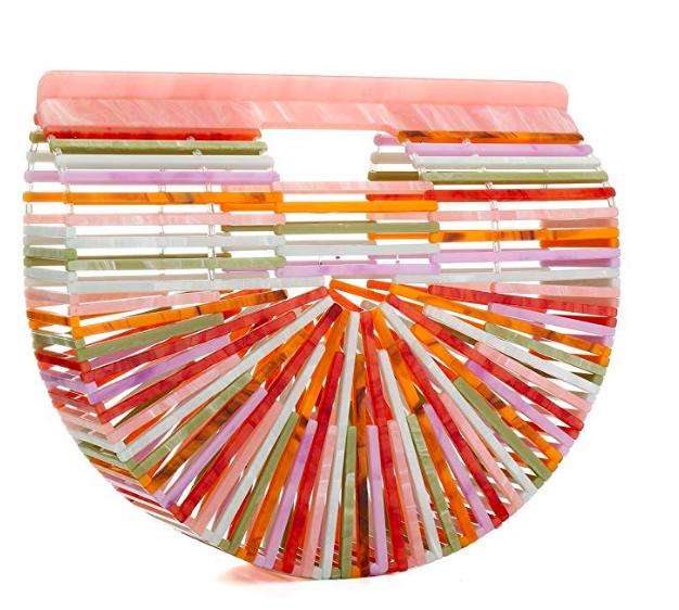 Summer Beach Bag for Women Women Ark Acrylic Clutch Handbag Large Tote Bag Beach Bag