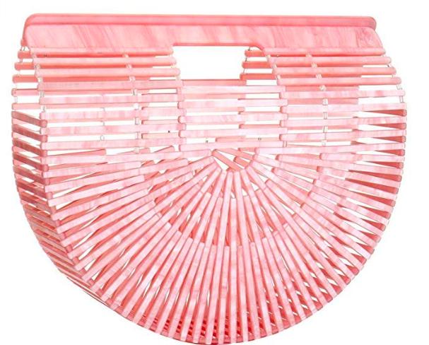 Women Ark Acrylic Clutch Handbag