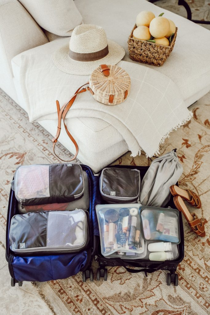 Seattle Blogger Sportsanista sharing three packing tips for your next weekend trip
