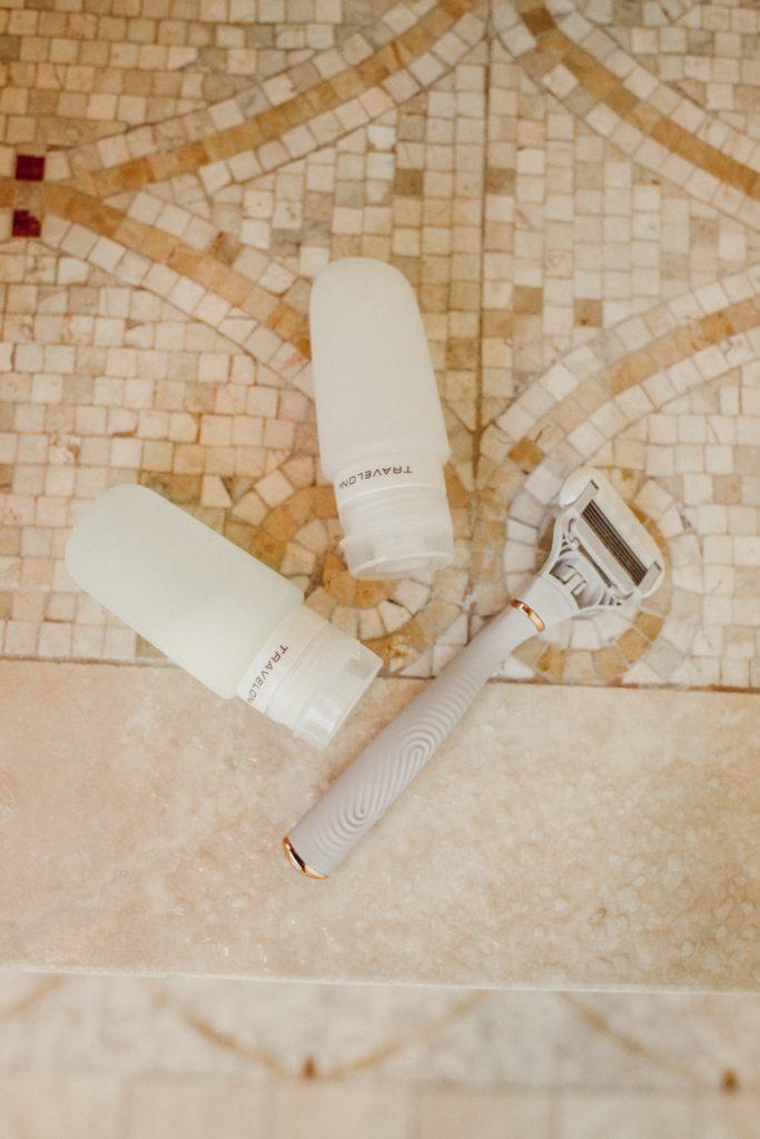 Travelon shampoo tubes