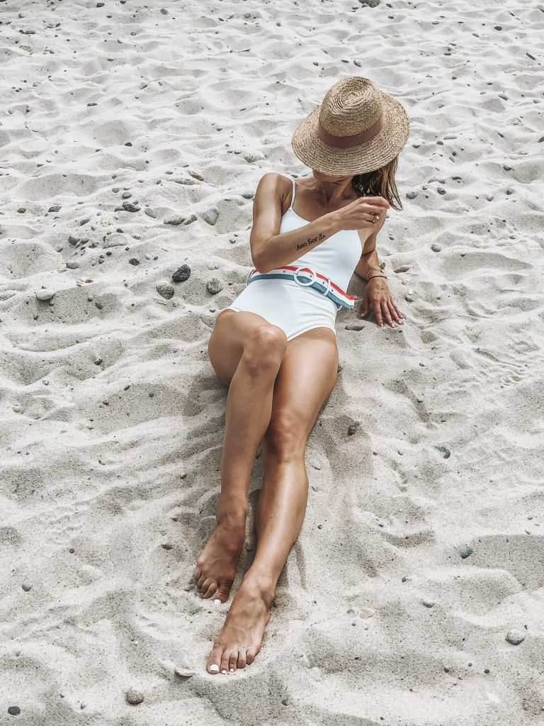What I wore in Cape Cod, $26 Amazon Fashion Bathing Suit