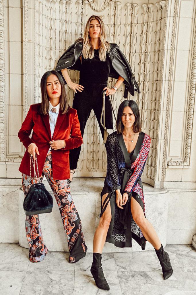How to style velvet three ways